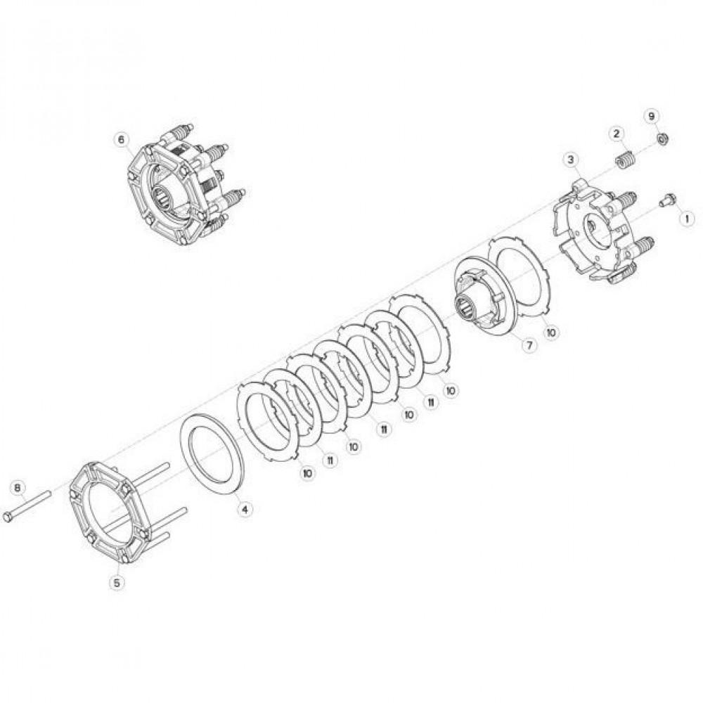 03 Koppelbegrenzende koppeling passend voor KUHN FC313TGRA