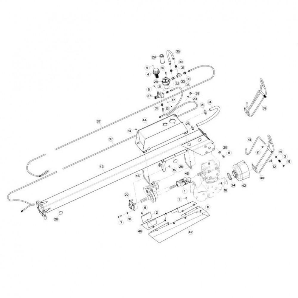 05 Koppeling, trekstang passend voor KUHN FC313TGRA