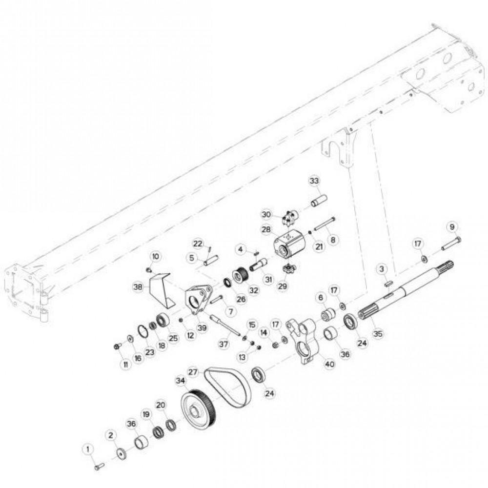 06 Hydrauliekpomp passend voor KUHN FC313TGRA