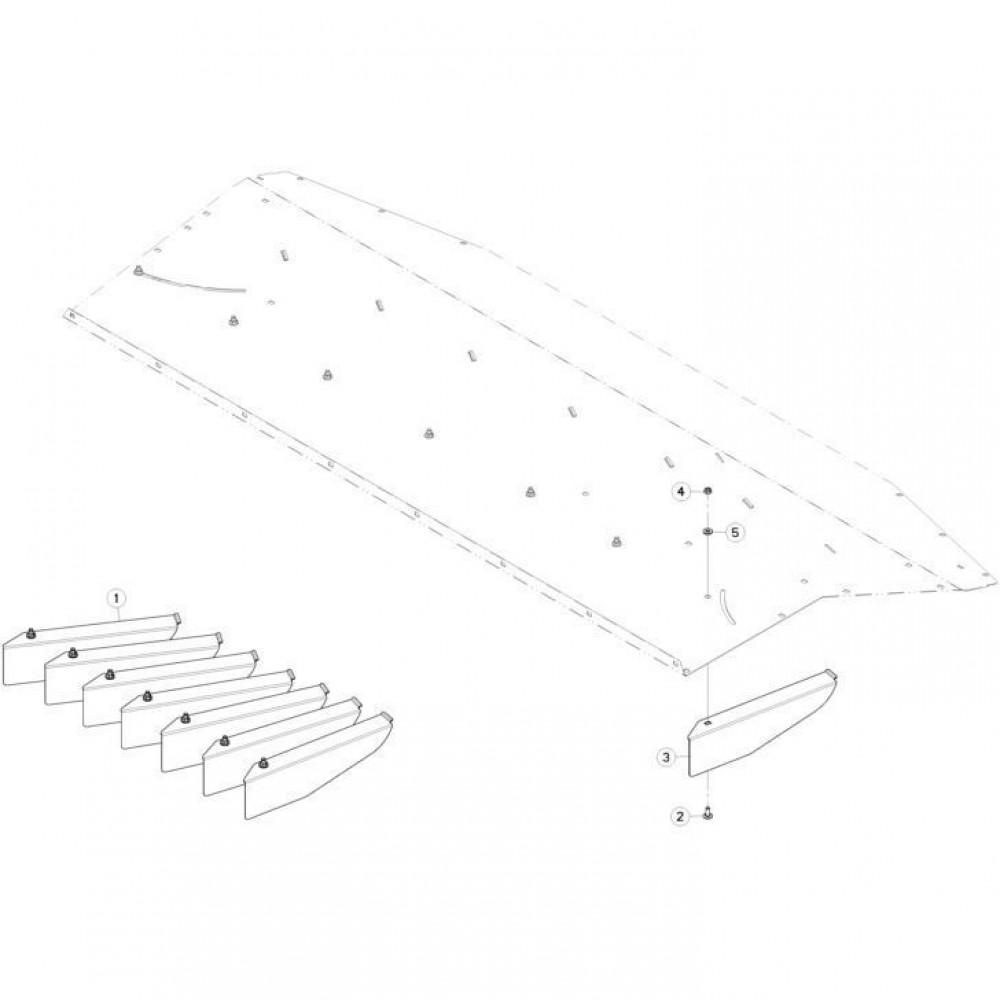 35 Brede verspreiderset passend voor KUHN FC313TGRA