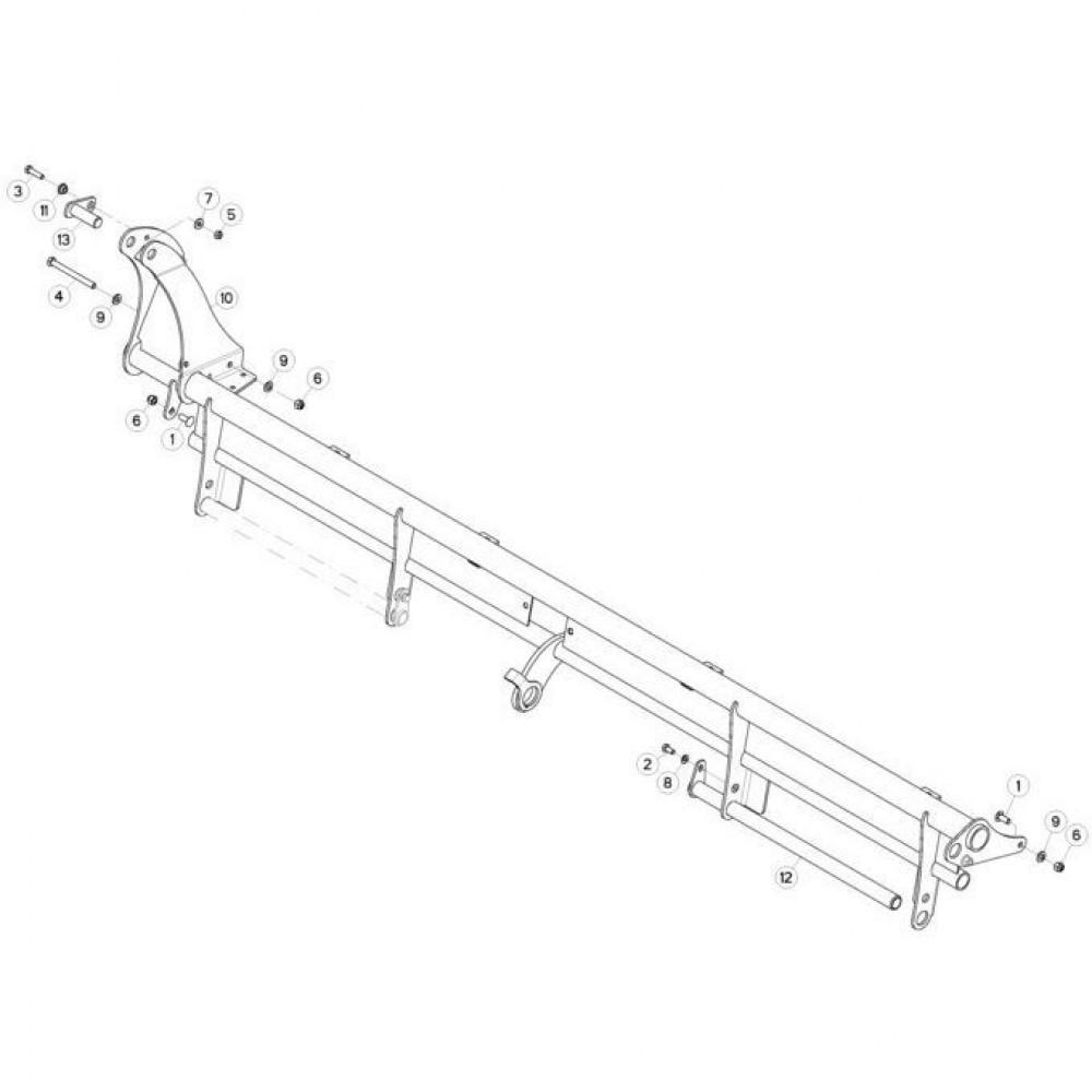 09 Deflectorset passend voor KUHN FC3160TLR