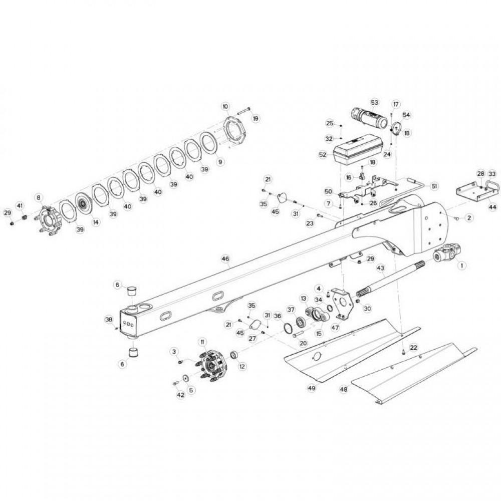 03 Trekstang passend voor KUHN FC3160TLV
