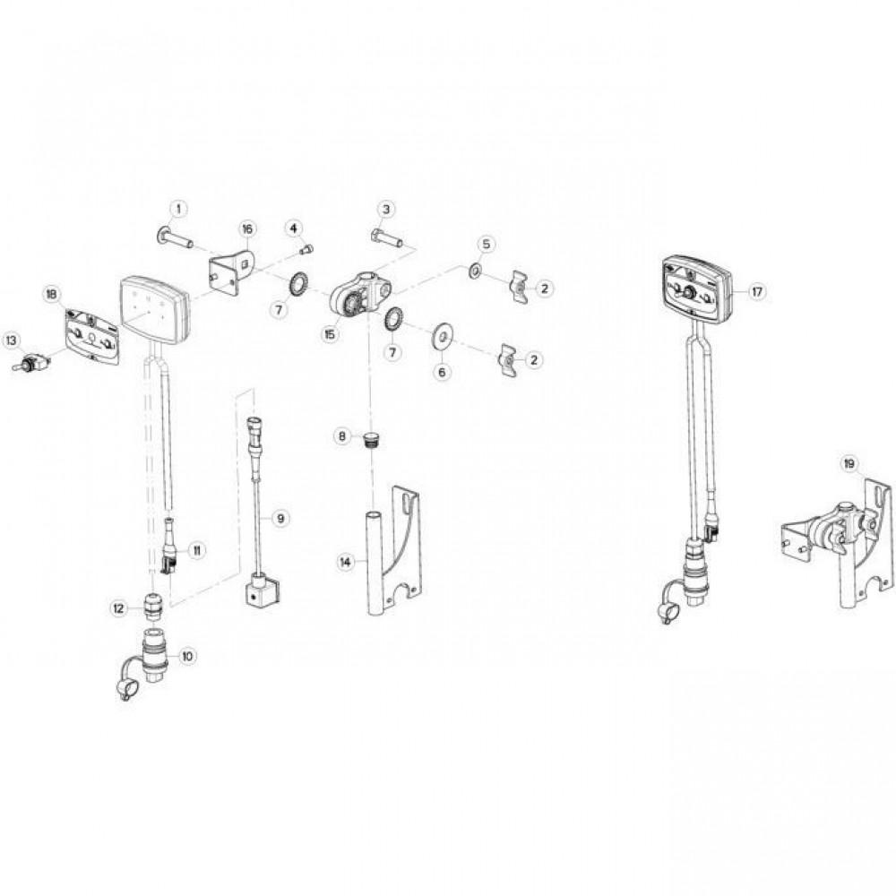 20 Besturingsbox passend voor KUHN FC3160TLV