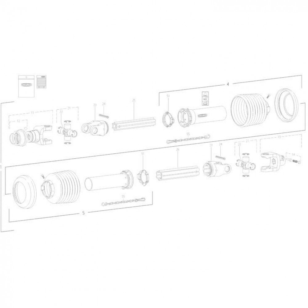 26 Transmissie 1 passend voor KUHN FC3160TLV