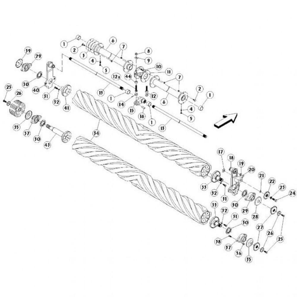 17 Conditionerende rollen passend voor KUHN FC350RG