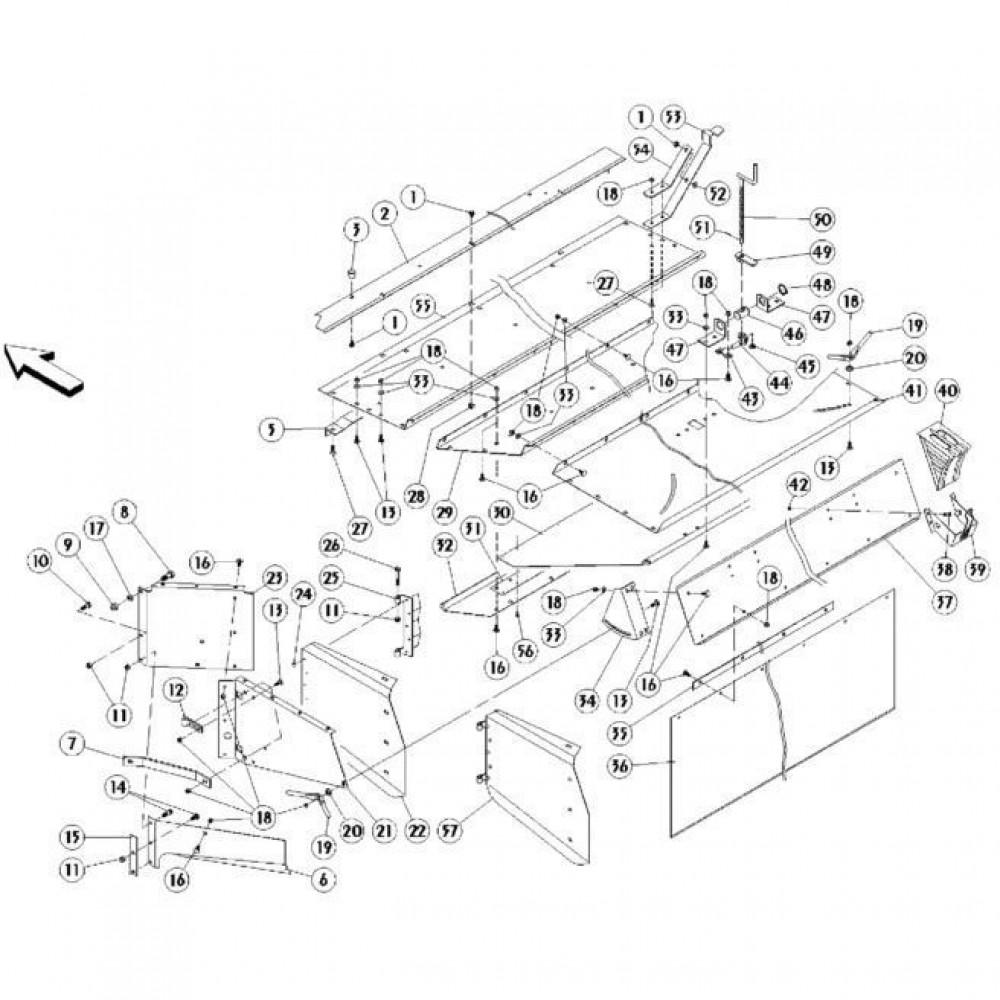 12 Afdekkingen passend voor KUHN FC350RGT
