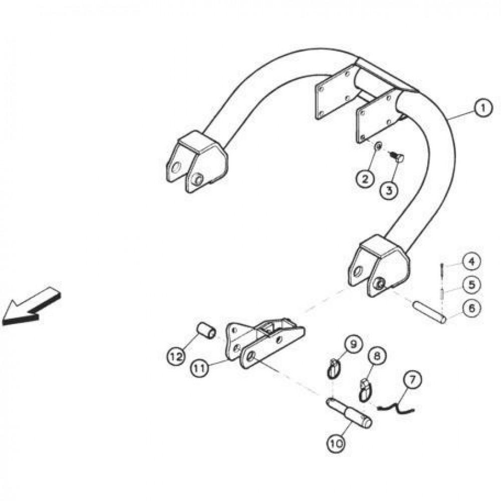 01 Verbindingsbuis 1 passend voor KUHN FC352G