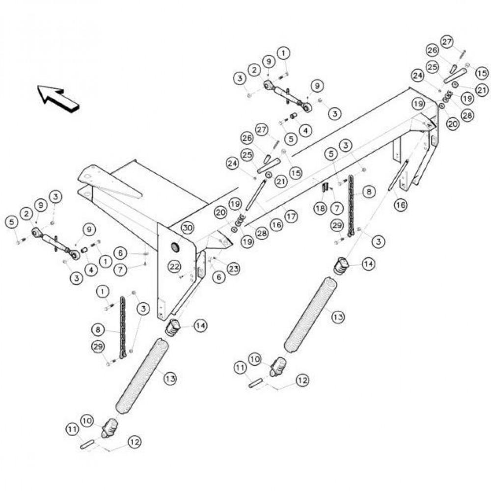 07 Frame passend voor KUHN FC352G