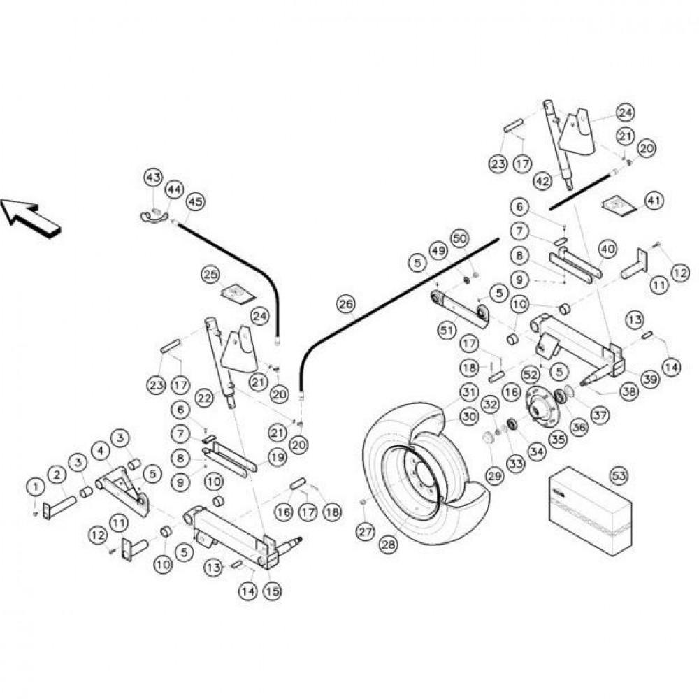 04 Hefmechanisme passend voor KUHN FC352MN