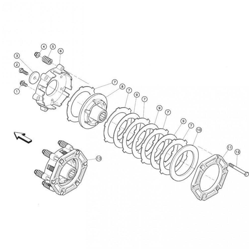 08 Koppelbegrenzende koppeling passend voor KUHN FC352MN