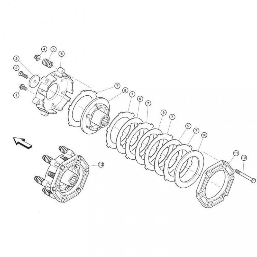 05 Koppelbegrenzende koppeling passend voor KUHN FC352RG 2