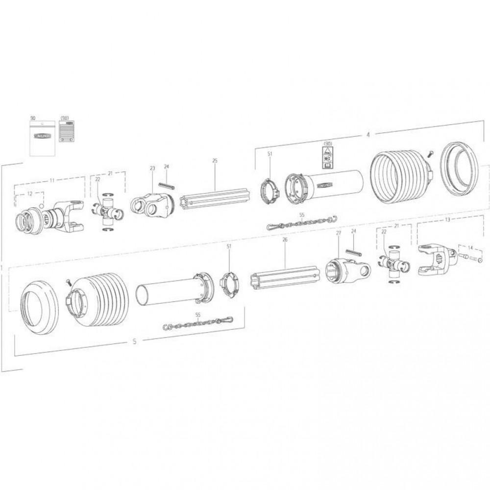 30 Transmissie 2 passend voor KUHN FC352RG 2