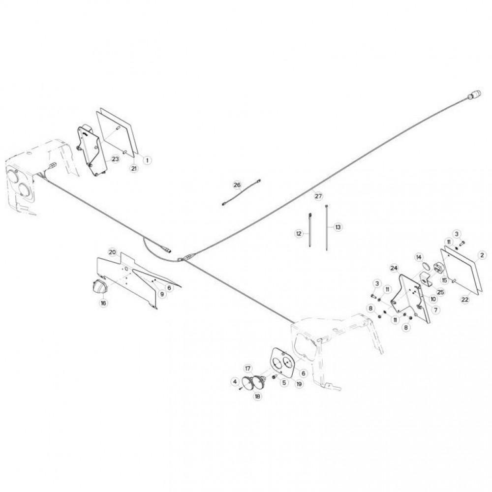 20 Verlichting passend voor KUHN FC3560TLD