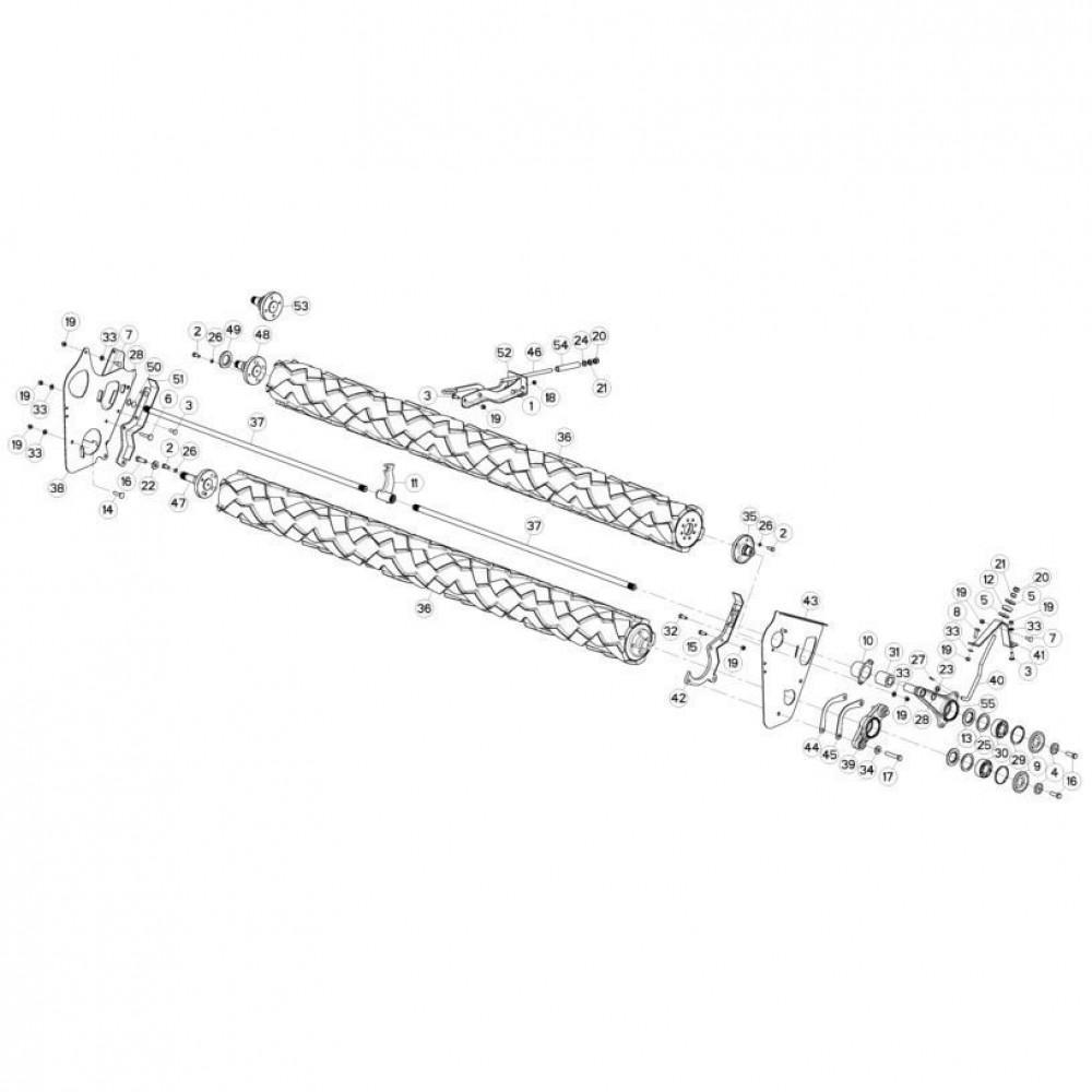 13 Rollen passend voor KUHN FC3560TLR