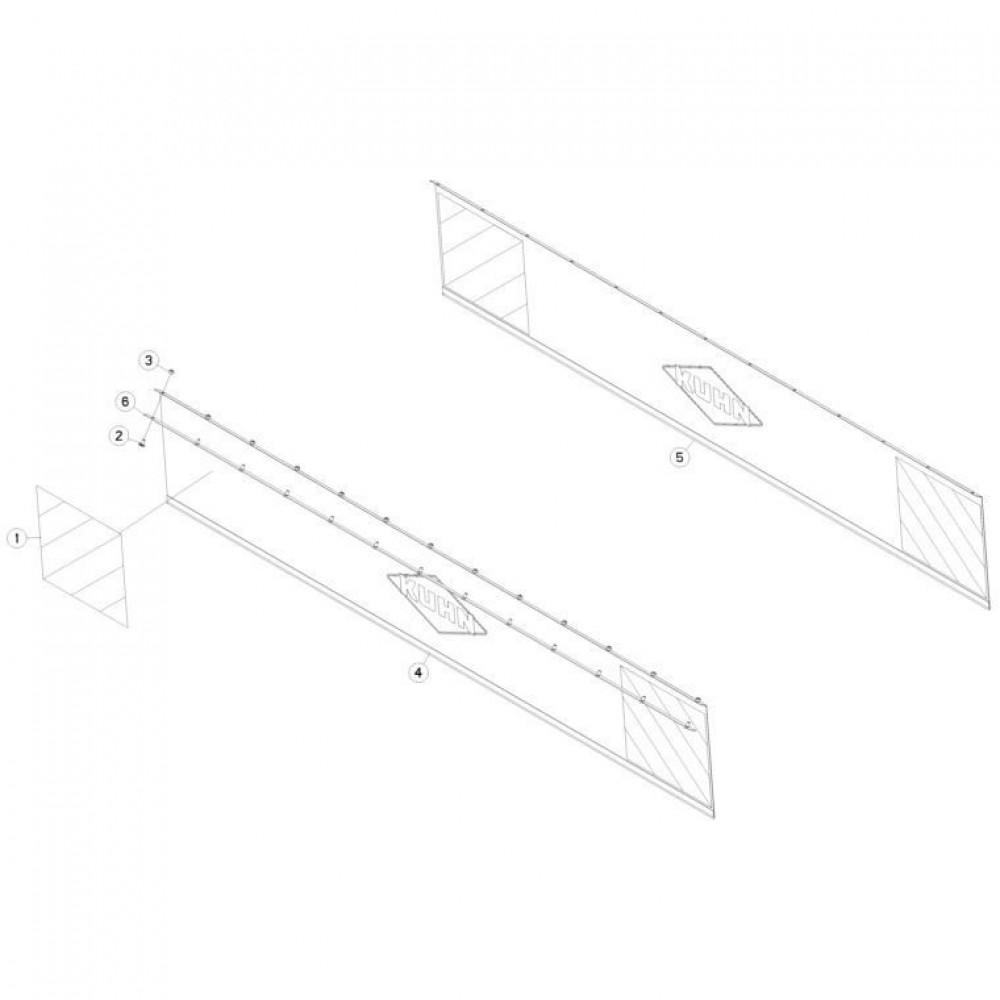 19 Beschermkap passend voor KUHN FC3560TLR
