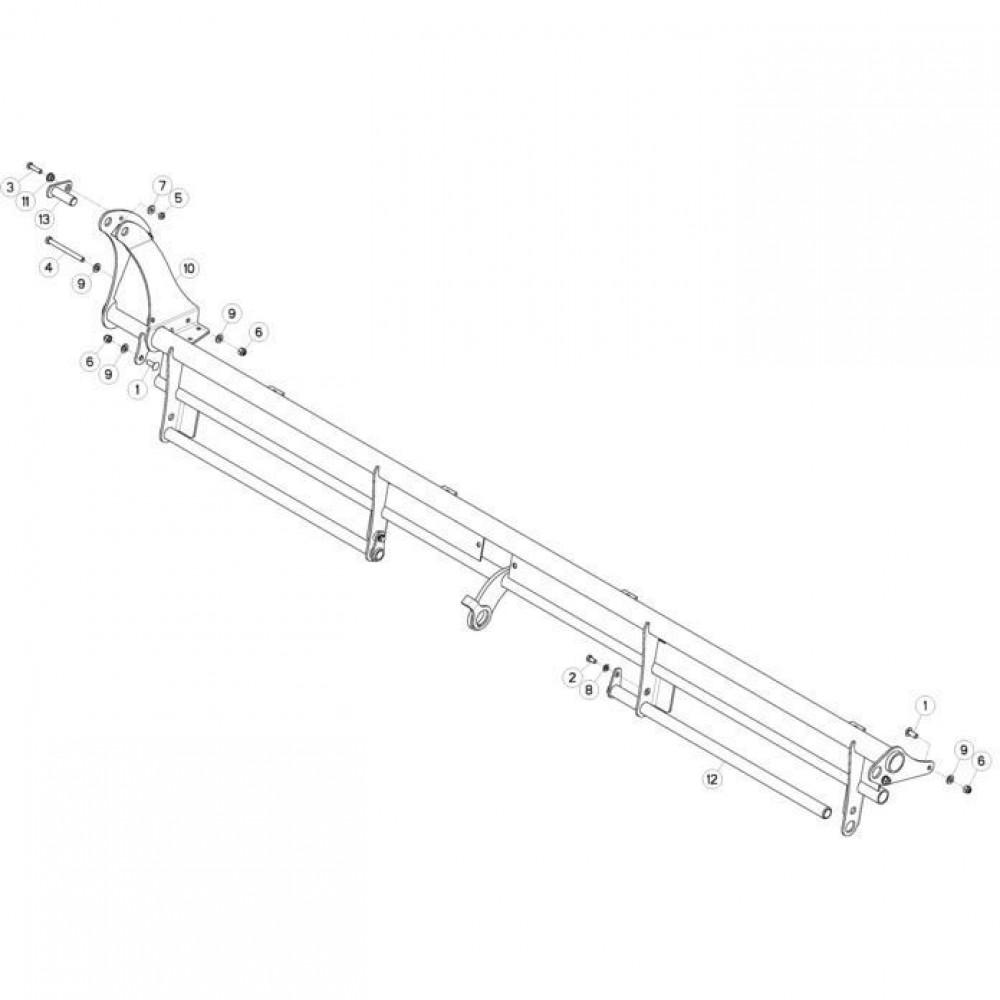 09 Deflectorset passend voor KUHN FC3560TLS