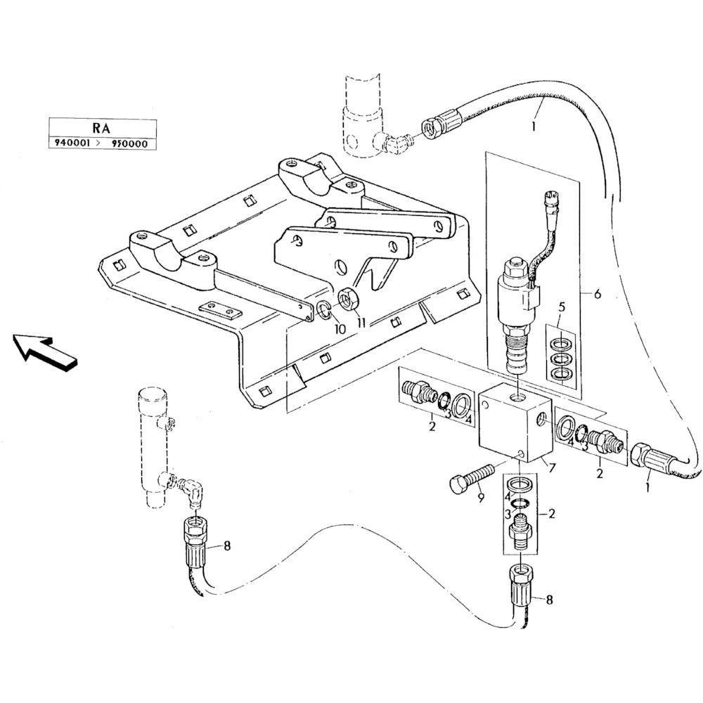 06 Elektro-hydraulische hefinrichting passend voor KUHN RA-FA300GTRGT