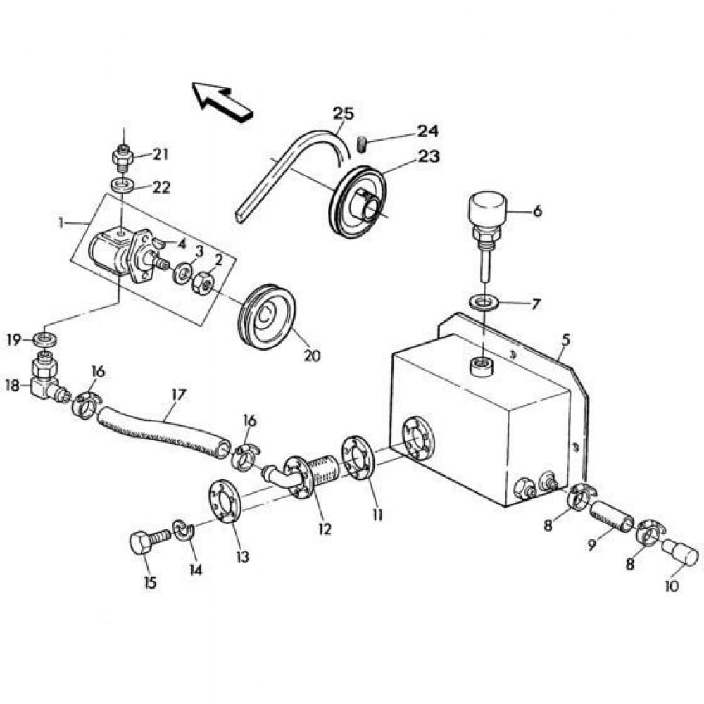 01 Hydrauliekpomp passend voor KUHN RA-FA300GT-RGT