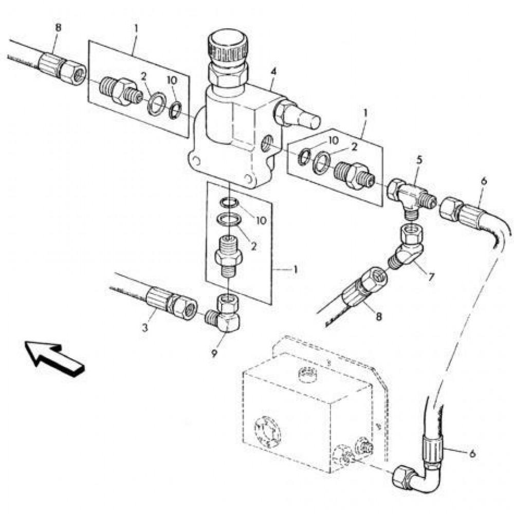 04 Hydraulisch systeem onderdelen 1 passend voor KUHN RA-FA300GT-RGT