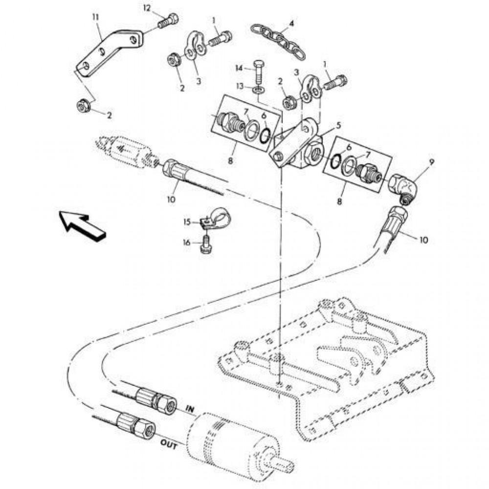 05 Hydraulisch systeem onderdelen 2 passend voor KUHN RA-FA300GT-RGT