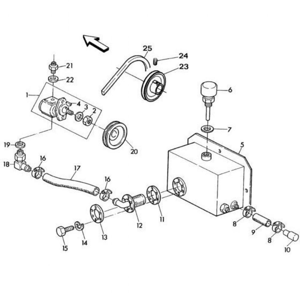 01 Hydrauliekpomp passend voor KUHN RA-FC302G-RG