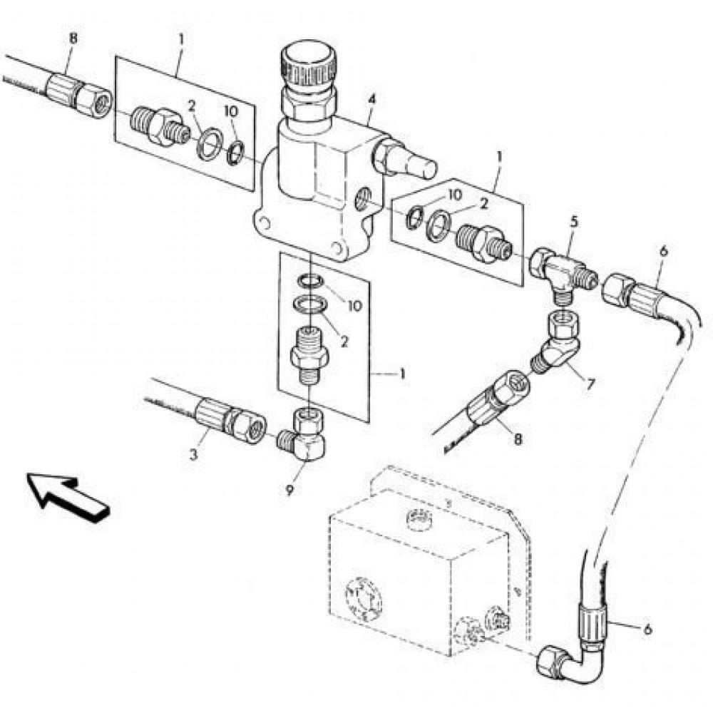 05 Hydraulisch systeem onderdelen 1 passend voor KUHN RA-FC302G-RG