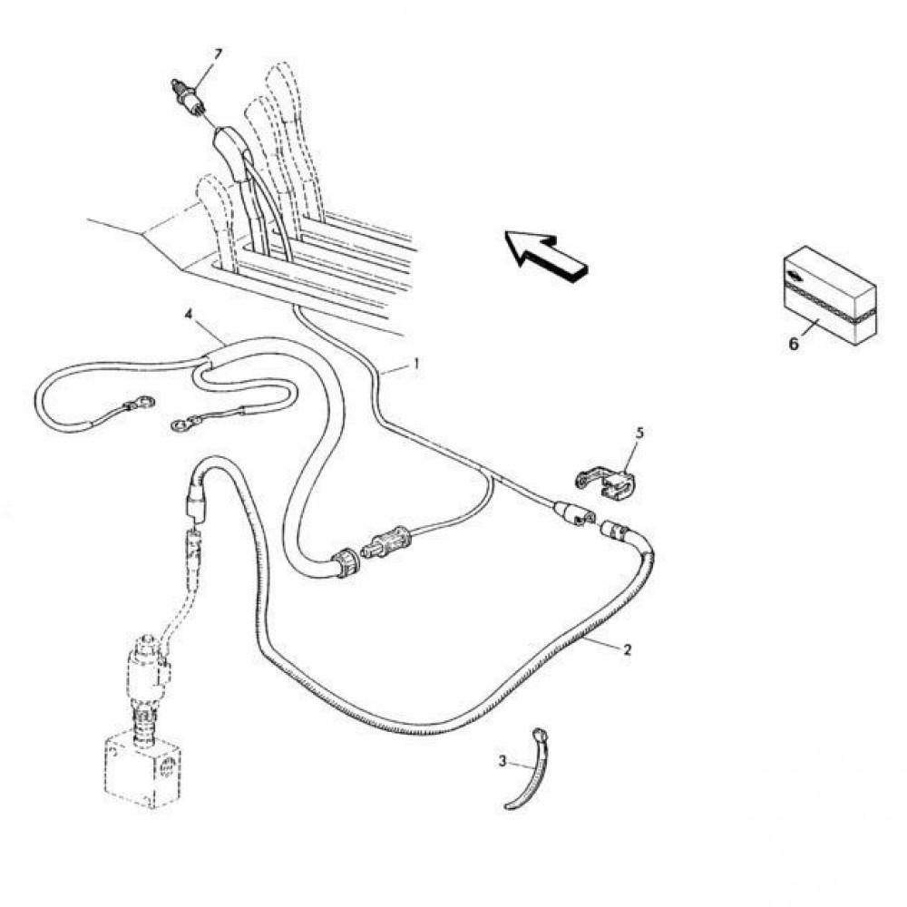 17 Kabelboom passend voor KUHN RA-FC302G-RG