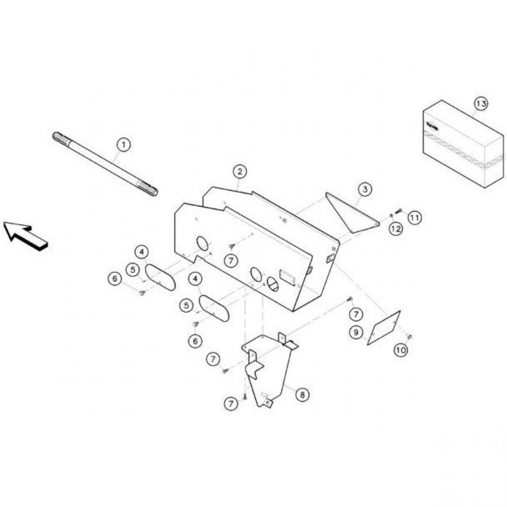 04 Schermbeugels passend voor KUHN RA-FC302MN