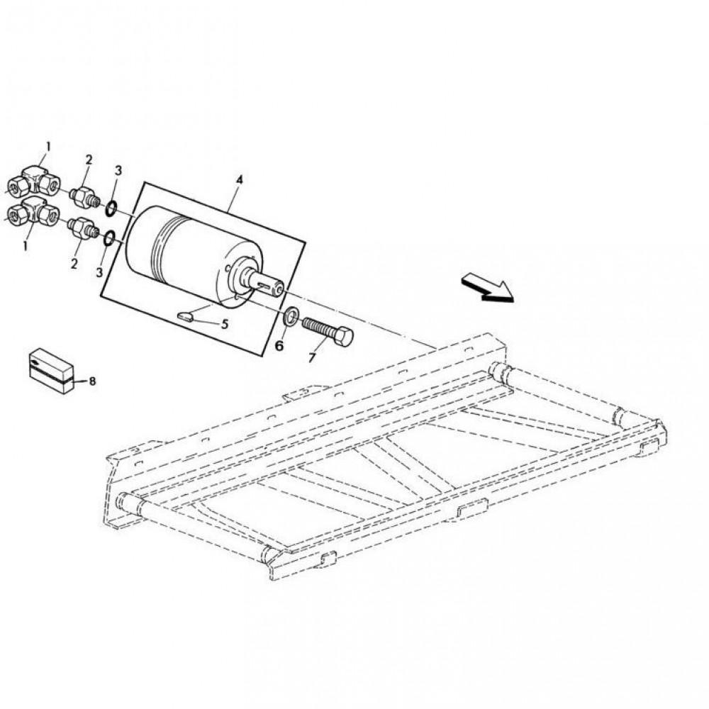 09 Hydraulische motor passend voor KUHN RA-FC302MN