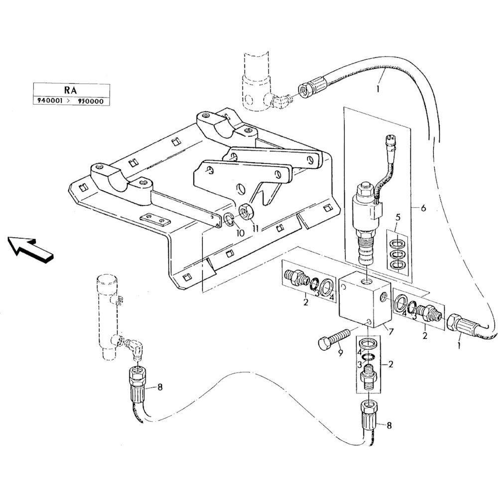 06 Elektro-hydraulische hefinrichting passend voor KUHN RA-FC352GRG