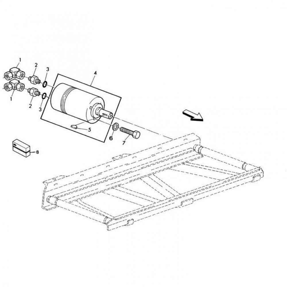 09 Hydraulische motor passend voor KUHN RA-FC352GRG