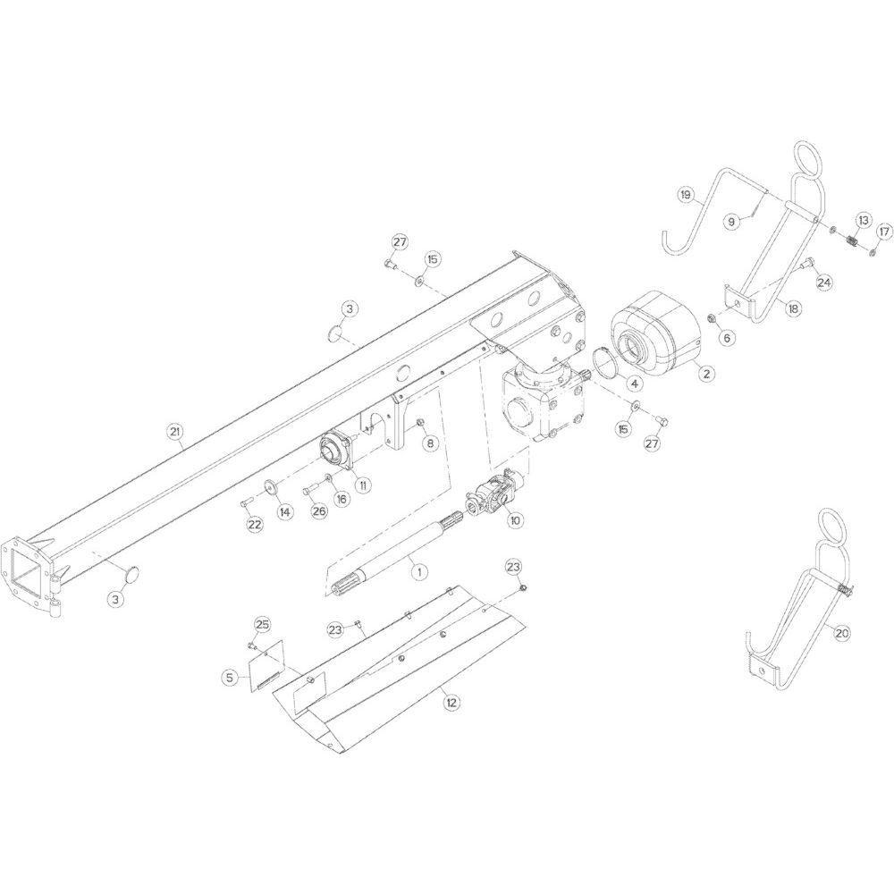 06 Dissel passend voor KUHN GMD283TG