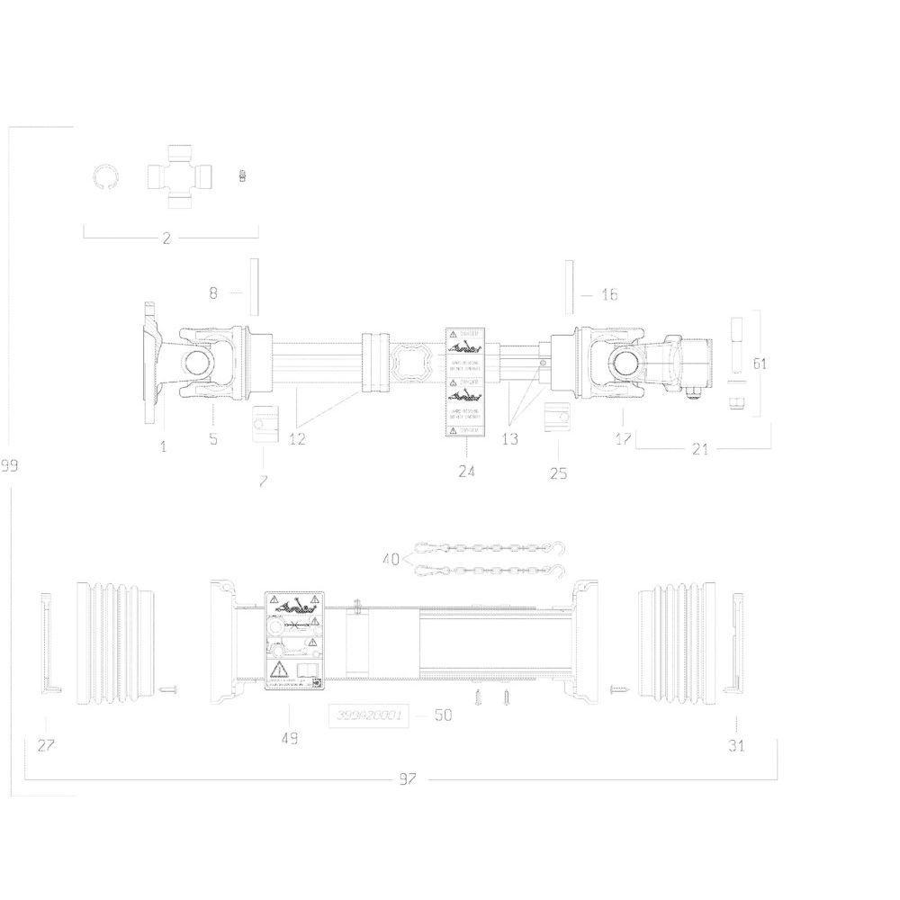 31 Transmissie 4800614 passend voor KUHN GMD283TG