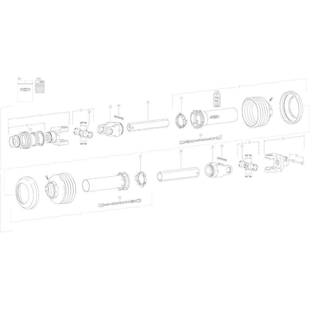 21 Transmissie 4600415 passend voor KUHN GMD283TG