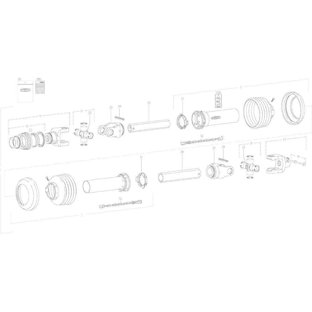 27 Transmissie 4600415 passend voor KUHN GMD313TG