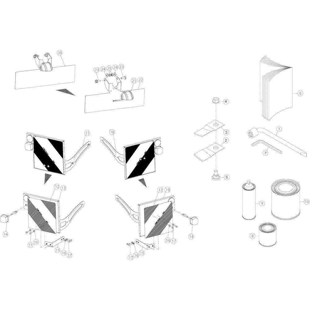 16 Diversen passend voor KUHN GMD3150TL