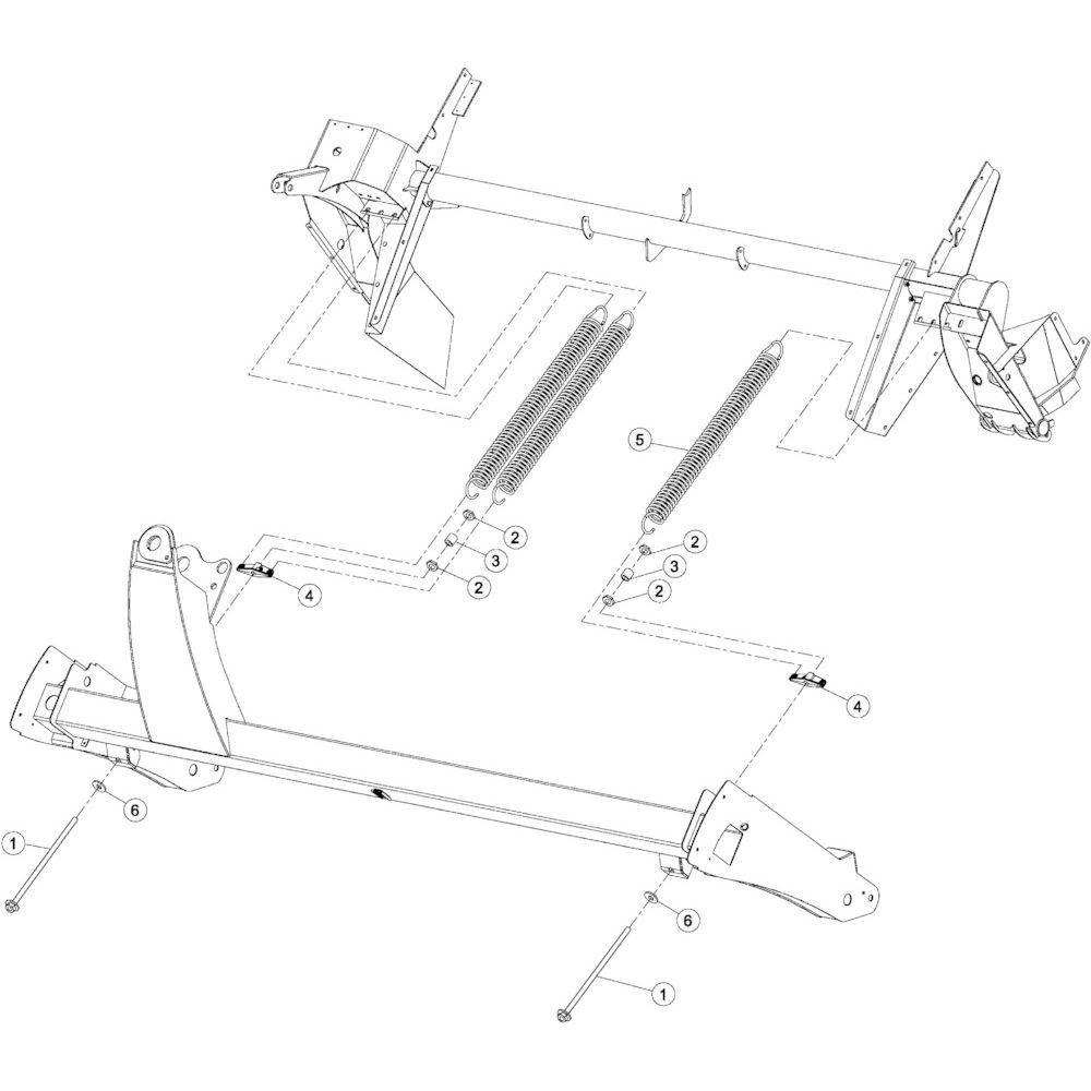 18 Aftakas CV secundair passend voor Kuhn GMD3550TL