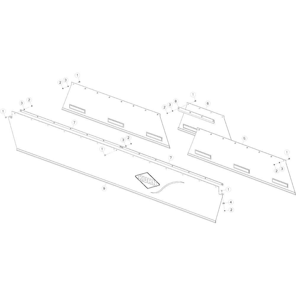 13 Beschermkap passend voor KUHN GMD5251TCNA