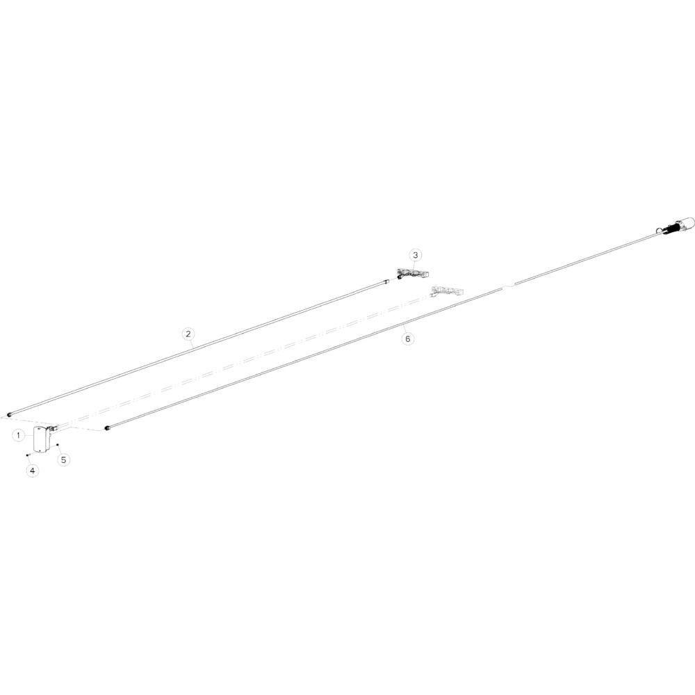 16 Kabelboom passend voor KUHN GMD5251TCNA