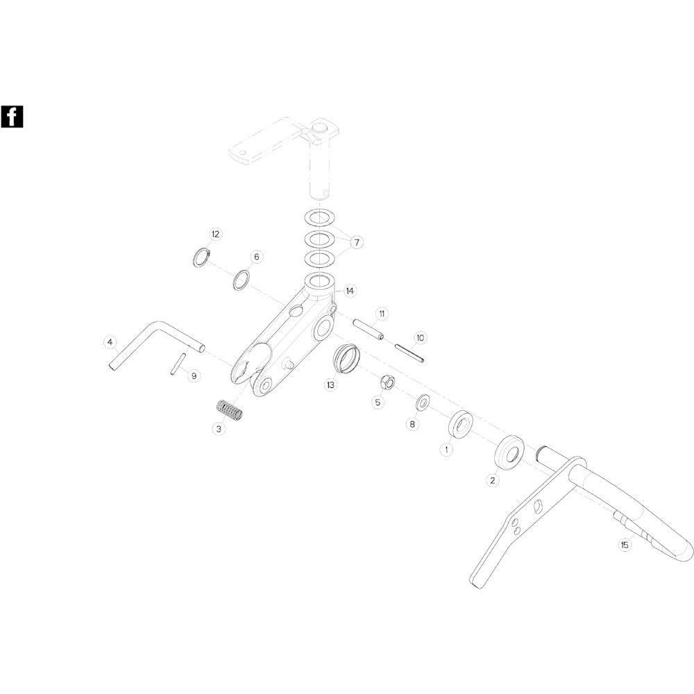 49 Wielkolom 9 passend voor KUHN GF10802TGII