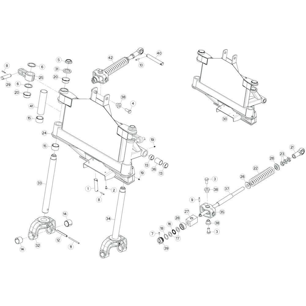 06 Kantelverstelling passend voor KUHN GF13002