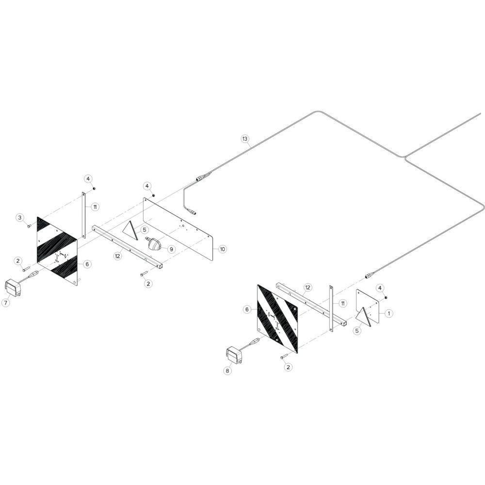 32 Verlichting passend voor KUHN GF13002