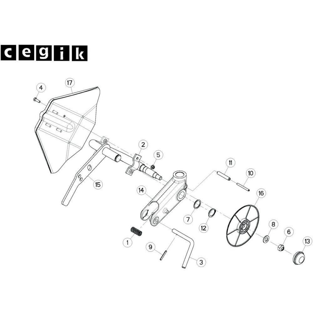 33 Wielkolom 2 passend voor KUHN GF13002