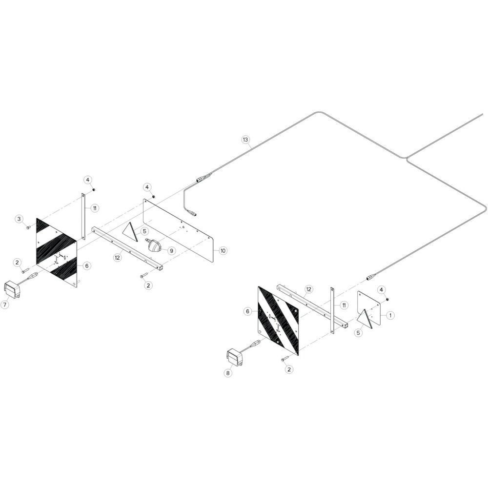37 Verlichting passend voor KUHN GF13002