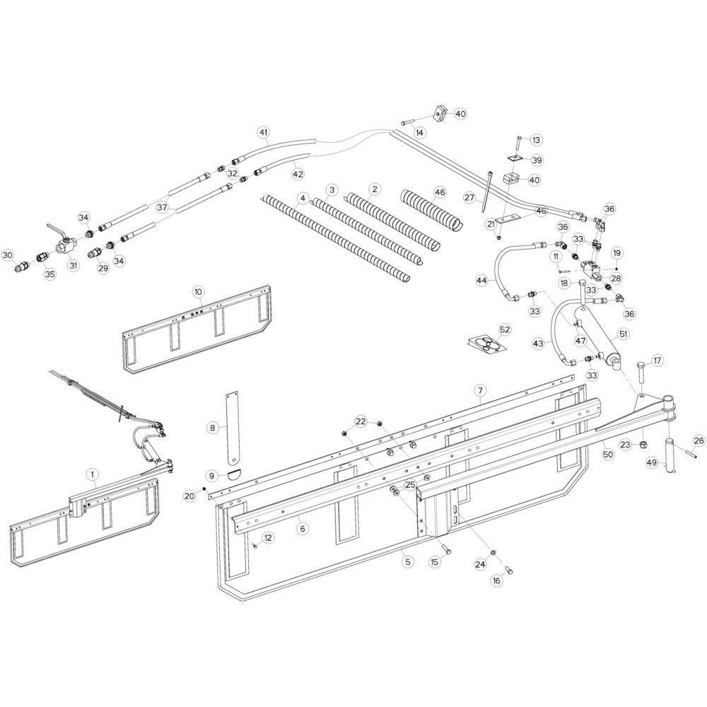 42 Deflector 2 passend voor KUHN GF13002