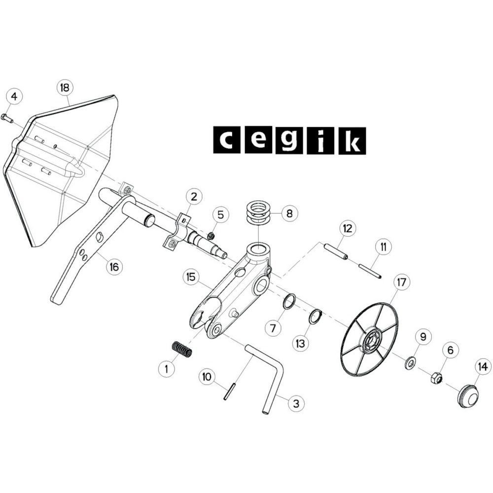 43 Wielkolom 4 passend voor KUHN GF13002