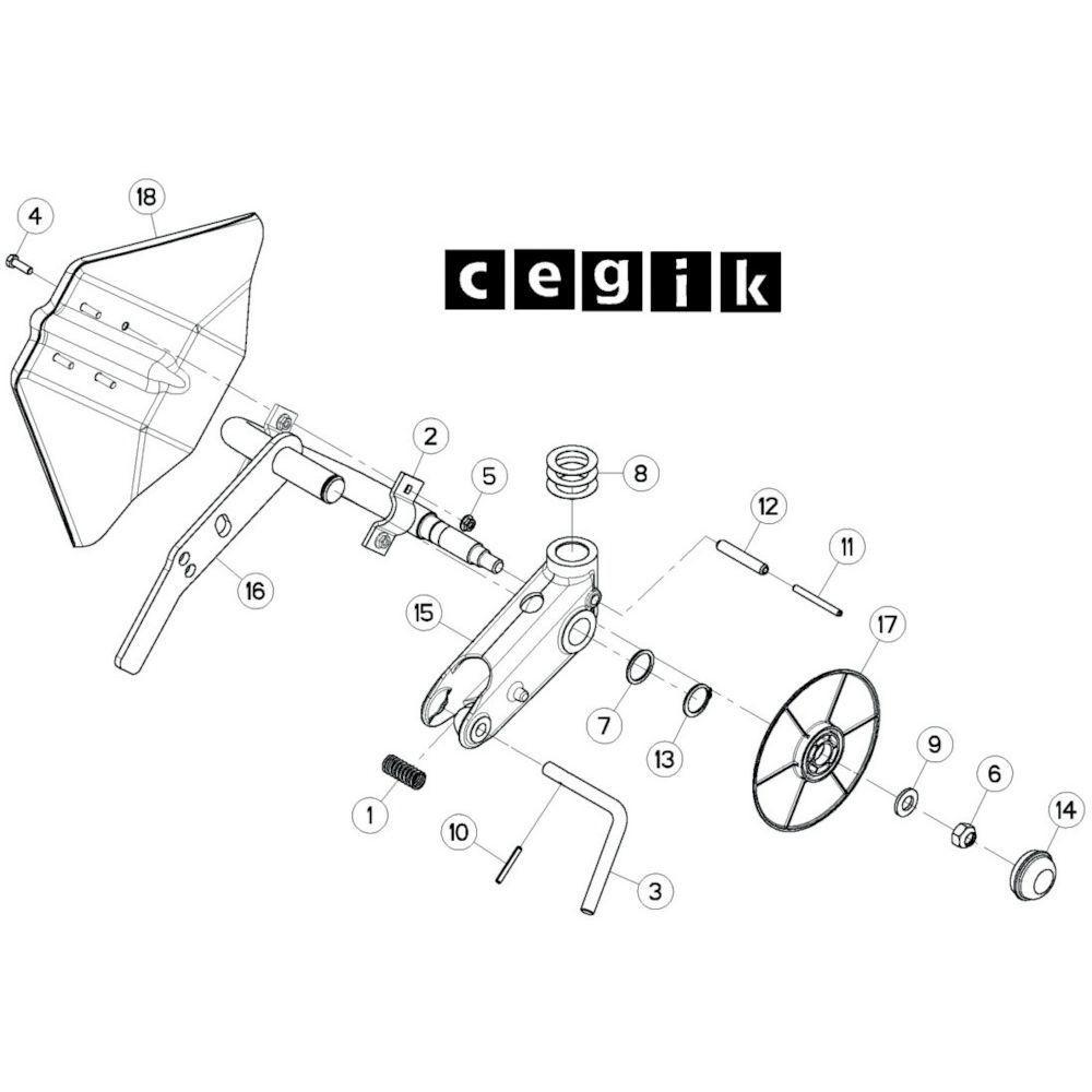 61 Wielkolom 8 passend voor KUHN GF13002