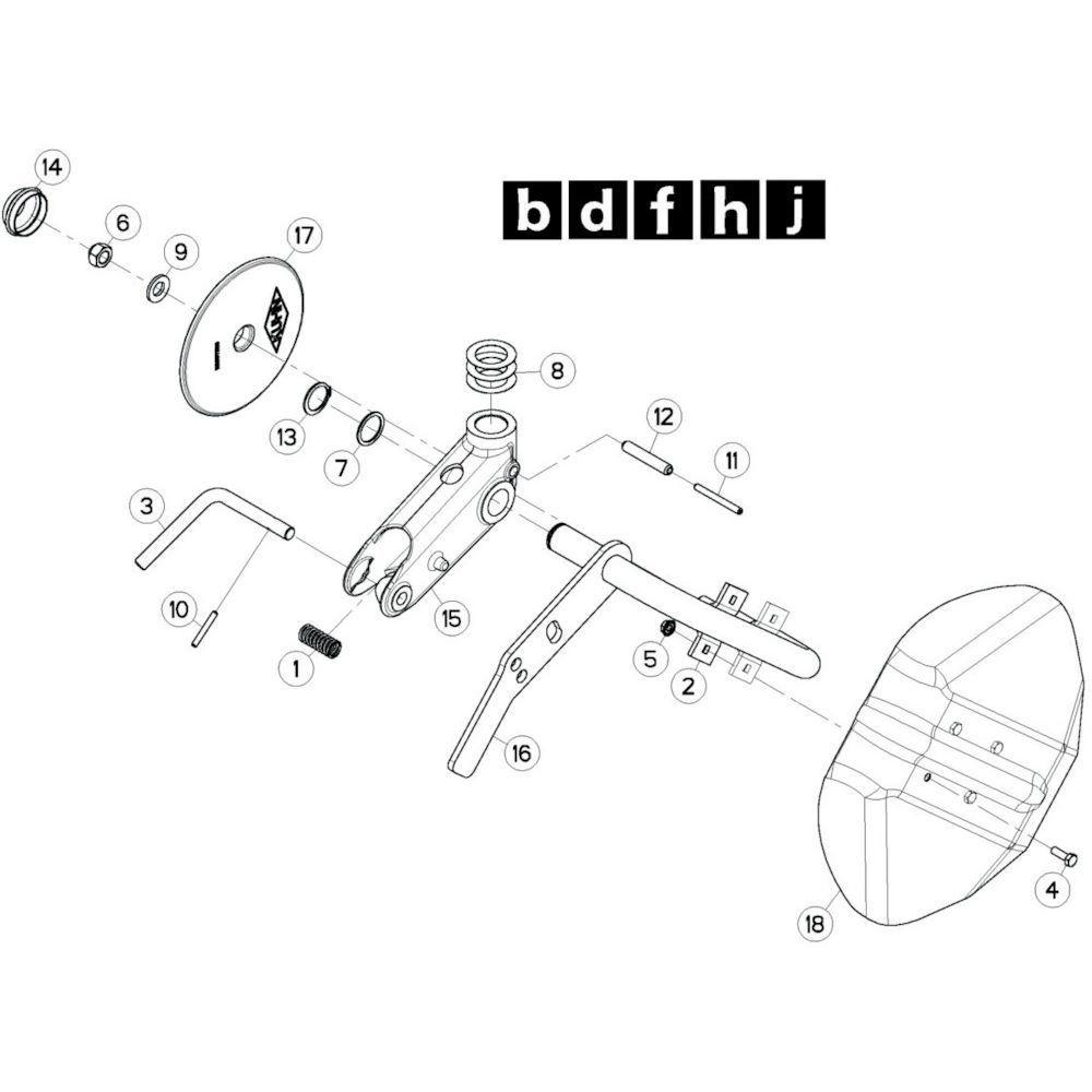 64 Wielkolom 11 passend voor KUHN GF13002