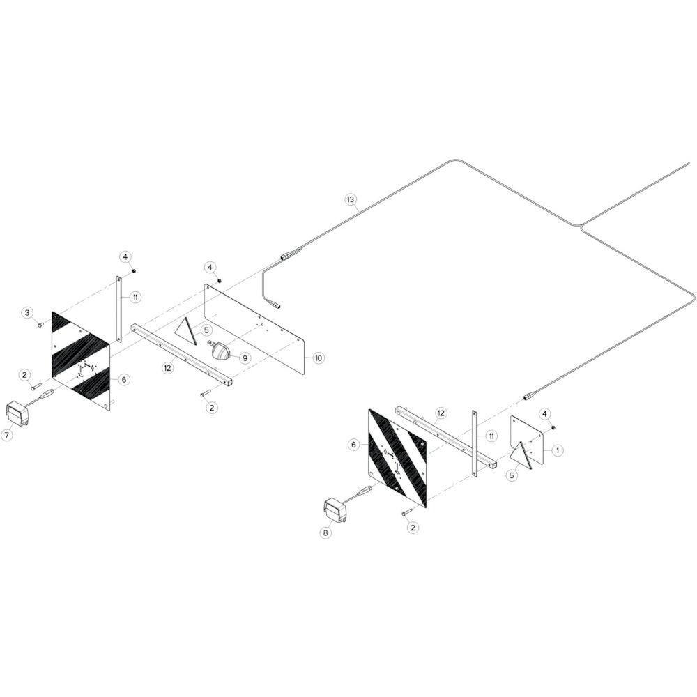 39 Verlichting passend voor KUHN GF17002