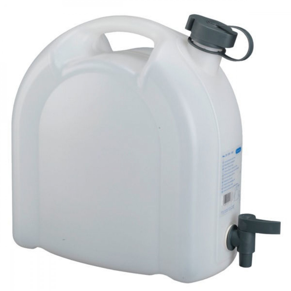 Pressol Water jerrycan 10L stapelbaar - JK21173 | Demontabele kraan | Goed te reinigen | Waterkan<br> Kraan | 0,55 kg | 10 l | transparant | 320 mm | 340 mm | 165 mm